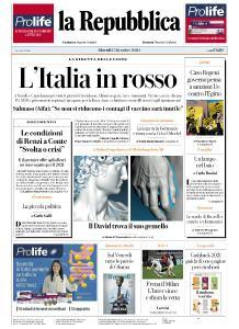 la Repubblica - 17 Dicembre 2020