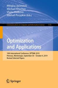 Optimization and Applications (Repost)