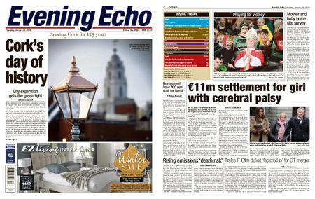 Evening Echo – January 24, 2019