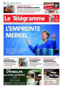 Le Télégramme Brest Abers Iroise – 24 septembre 2021