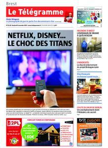 Le Télégramme Brest – 08 novembre 2019