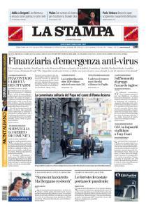 La Stampa Imperia e Sanremo - 16 Marzo 2020