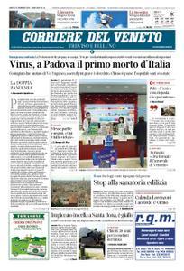 Corriere del Veneto Treviso e Belluno – 22 febbraio 2020