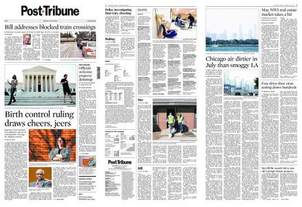 Post-Tribune – July 13, 2020