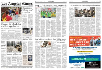 Los Angeles Times – August 25, 2021