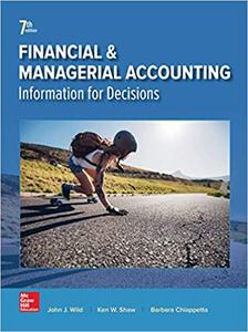 Financial and Managerial Accounting 7th Edition