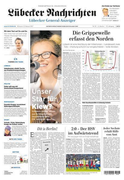 Lübecker Nachrichten - 8 Februar 2017