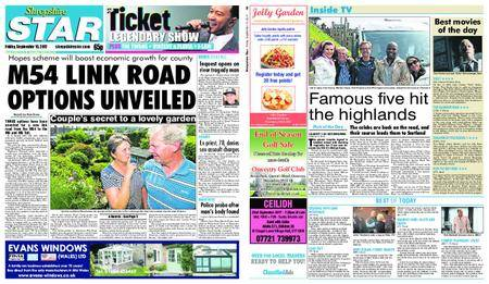 Shropshire Star Shrewsbury Edition – September 15, 2017