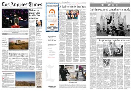 Los Angeles Times – February 25, 2020