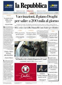 la Repubblica - 28 Febbraio 2021