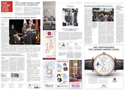 The Globe and Mail – December 22, 2017