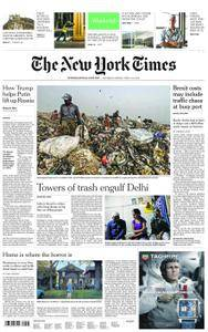 International New York Times - 09 June 2018
