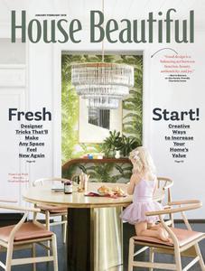House Beautiful USA - January 2019