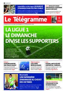 Le Télégramme Brest Abers Iroise – 16 août 2020