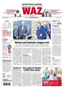 WAZ Westdeutsche Allgemeine Zeitung Oberhausen-Sterkrade - 03. Juli 2018