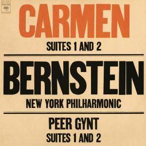 Leonard Bernstein - Bizet: Carmen Suites Nos. 1 & 2 - Grieg: Peer Gynt Suites Nos. 1 & 2 (2017) [24/192]