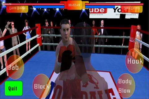 3D Boxing Gioco - ENG