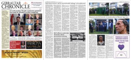 Gibraltar Chronicle – 25 November 2020
