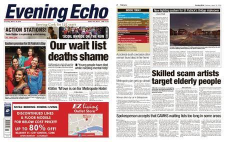Evening Echo – March 15, 2018