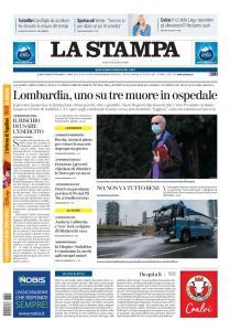 La Stampa Imperia e Sanremo - 21 Marzo 2020