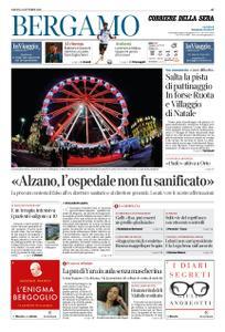 Corriere della Sera Bergamo – 24 ottobre 2020