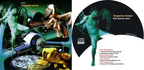 Tangerine Dream - East (with Bonus CD) (1990/2004)