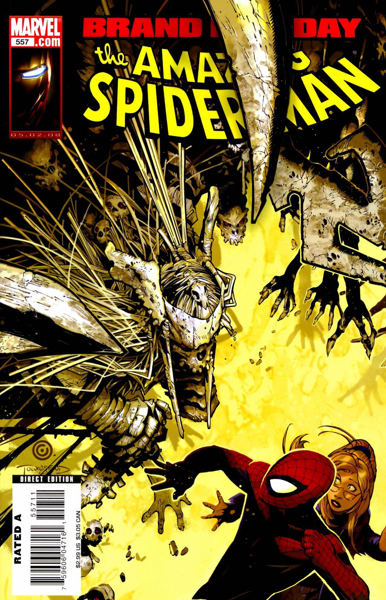 For PostalPops Amazing Spider-Man 557 cbr