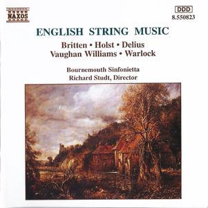 Richard Studt - English String Music: Britten, Holst, Delius, Williams, Warlock (1994) (Repost)