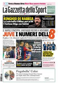 La Gazzetta dello Sport Sicilia – 26 novembre 2018