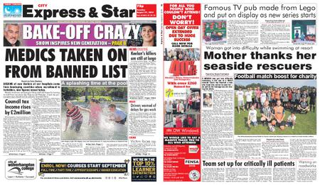 Express and Star City Edition – August 27, 2019