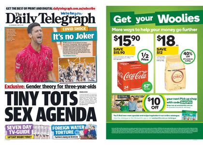 The Daily Telegraph (Sydney) – June 24, 2020