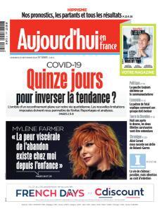 Aujourd'hui en France - 25 Septembre 2020