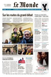 Le Monde du Dimanche 3 et Lundi 4 Février 2019