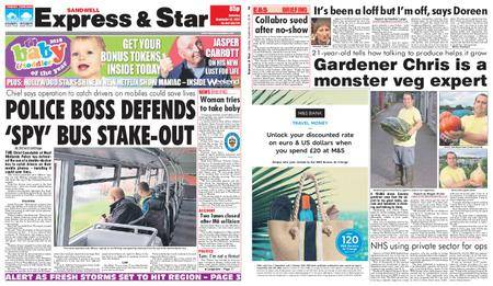 Express and Star Sandwell Edition – September 22, 2018