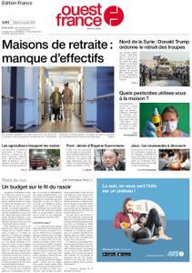Ouest-France Édition France – 08 octobre 2019