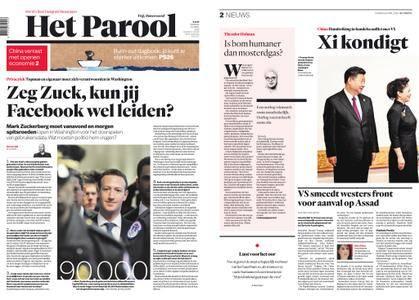 Het Parool – 10 april 2018
