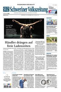 Schweriner Volkszeitung Hagenower Kreisblatt - 16. Oktober 2018