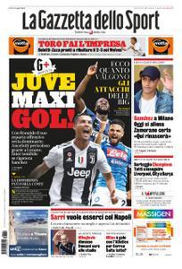 La Gazzetta dello Sport Roma – 29 agosto 2019