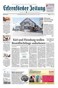Eckernförder Zeitung - 15. Juni 2019