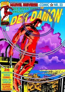 Marvel Universe Comics 23 - Der Daemon