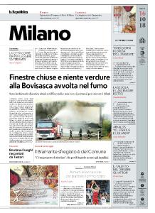 la Repubblica Milano - 16 Ottobre 2018