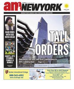 AM New York - October 28, 2019
