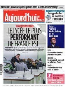 Aujourd'hui en France du Mercredi 21 Mars 2018