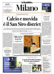 la Repubblica Milano – 11 luglio 2019