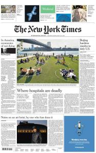 International New York Times - 30-31 May 2020