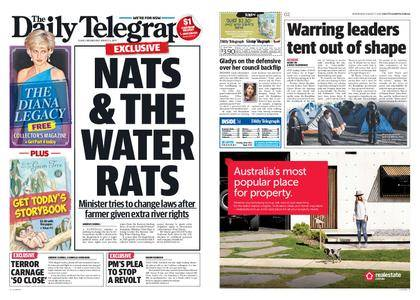 The Daily Telegraph (Sydney) – August 02, 2017