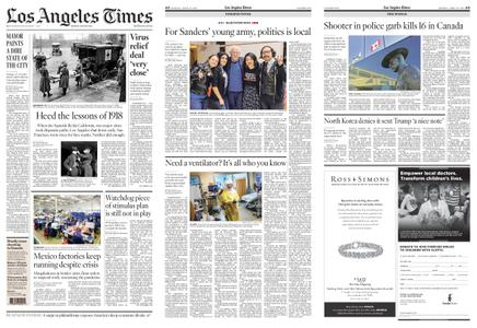 Los Angeles Times – April 20, 2020