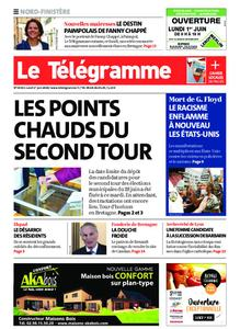 Le Télégramme Brest Abers Iroise – 01 juin 2020