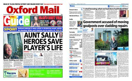 Oxford Mail – October 19, 2017