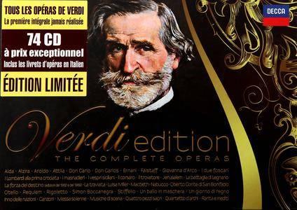Verdi Edition: The Complete Operas (2013) (74 CDs Box Set)